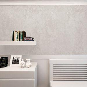 Papel de Parede Cimento Queimado Bege 100x52cm