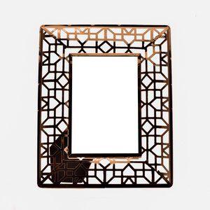 Porta-retrato Retangular LF Centennial Acobreado