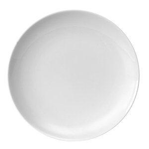 Prato Raso Germer de Porcelana Branco D27,5cm