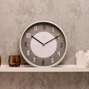 Relógio de Parede Cinza