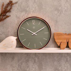 Relógio de Parede Verde