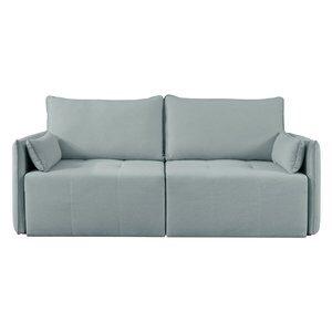 Sofá de 2 Lugares Retrátil Barbacena Azul Claro 198cm