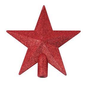 Ponteira Para Árvore de Natal Estrela Vermelha