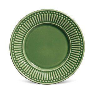 Prato de Sobremesa de Cerâmica Daisy Verde D20cm