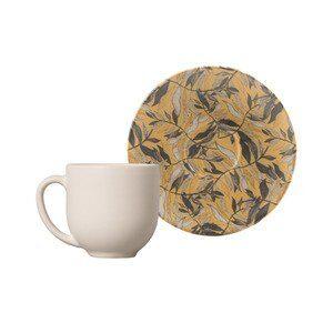 Xícara de Café com Pires Coup Amarilla 72ml