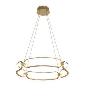 Pendente Lumina Dourado 50W 60x9,5cm
