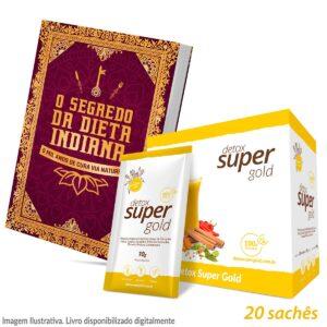 1 caixa Detox Super Gold + Livro de Receitas Digital