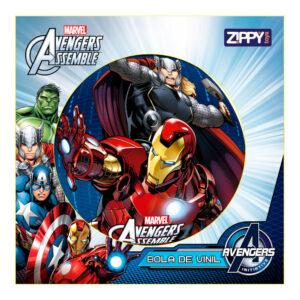 Bola de Vinil - Avengers - Marvel - Thor e Iron Man - Zippy Toys