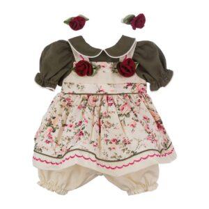 Roupa para Boneca Adora Doll - Vestido Florido com Rosas - Shiny Toys