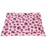 Colchonete para Cachorros e Gatos Allpet 65x50cm Ortobom - Rosa/Marrom