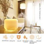 Mute Essencial Óleo Aroma Aromaterapia Purificador Difusor Umidificador De Ar 500ml