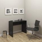 Mesa Escrivaninha Para Escritório Modelo 02 Sem Gavetas - R&s Móveis - Preto