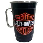 Caneca em Alumínio Térmica de Chopp Preta - Harley Davidson