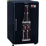 Refrigerador para Bebidas Gelopar Cervejeira GRBA-120PR 112l Preto/Adesivado