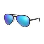 Óculos Unissex de Sol Ray Ban RB4320CH 601S/A1 Lentes Polarizadas