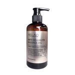 O óleo essencial de massagem corporal esfoliante de aperto de elevação e de controle de óleo