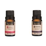 Óleo Essencial Gerânio + óleo essencial Lavanda Via Aroma