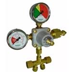 Regulador Pressão Dupla Saida Co2 Chopp /artesanal- Famabras