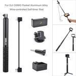 Selfie vara trip¨¦ Phone Holder Para DJI OSMO bolso Handheld Gimbal