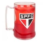 Caneca Chopp Gel Escudo São Paulo SPFC 460ml Presente