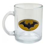 Caneca Chopp de Vidro Batman 370ml Presente