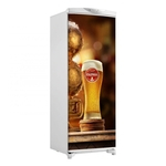 Adesivo Geladeira Porta Cerveja Itaipava Chopp -150X60Cm
