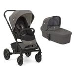 Carrinho de Bebê Chrome Preto/Cinza Foggy Gray - Joie