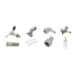 Kit Extração Chopp com Regulador, Torneira e Alongador 150Mm