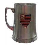 Caneca de Chopp Inox do Flamengo Licenciado 420 ml