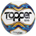 Bola De Futebol Campo Topper Samba Velocity Pró Hybrid Ferj