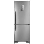 Geladeira/refrigerador Frost Free Nr-bb53pv3xa 425 Litros Aço Escovado Panasonic