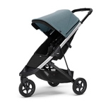 Carrinho de Bebê Spring Teal Melange Chassi Aluminio - Thule
