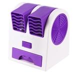 Mini USB portátil com refrigerador de ar com ventilador, ar condicionado, difusor de aromaterapia, umidificador com ventilador de resfriamento de ar de viagem doméstico