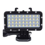 Lampada de mergulho 36 contas LED luz imperme¢vel para Gopro 6 5 4 para Xiaomi Yi