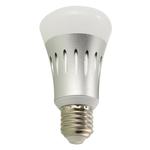 Bulb WIFI E27 8W LED inteligente APP-Control Wireless Color Mudando Bulb Alexa Dot Luz Regulável Luz Para Casa Hotel