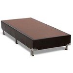 Cama Box Base Ortobom Universal Courino Black Solteiro 96