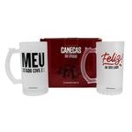 Kit Cu002F 2 Canecas de Chopp Fosca - Estado Civil - 10140622