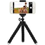Kit 10x Tripe Celular Portátil Mini Suporte Flexível Atacado Celular Xiaomi Redmi iPhone Samsung Motorola Camera GoPro