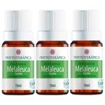 Phytoterapica Kit 3x Oleo Essencial Melaleuca Tea Tree 10ml