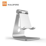 Xiaomi guildford liga de alumínio Suporte móvel Phone Holder para o iPhone 6 7 8 iPad Plus X prata samsung Table pc All-Metal