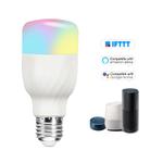 Bulb V7 inteligente LED wifi Bulb rgb + W LED 11W E27 Regulável Luz Telefone Controle Remoto Controle Grupo Compatível com Alexa Página inicial do Google Tmall luz de controle de voz Genie Bulb Branco