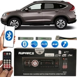 Aparelho Som Mp3 Bluetooth Pendrive Usb Radio - Honda Cr-v