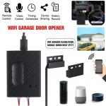 Wi-fi sem fio inteligente abridor de porta da garagem interruptor remoto app segurança abridor de porta da garagem app controle remoto para amazon alexa e para casa g