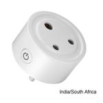 Smart WiFi Plug Remote Power Switch Soquete sem fio para Alexa Índia / África do Sul