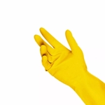 10 Pares Luva Amarela Latex Lava Louça Multiuso Cozinha
