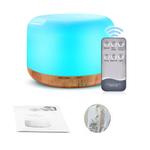 300ml Madeira Aromaterapia Umidificador Fragrance Lamp Umidificador leo Essencial