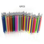 2 pcs 1,0 milªmetros caneta gel colorido fluorescente recargas de cartuchos de cor flash Pen Suave Tinta Pintura Graffiti canetas papelaria Estudante