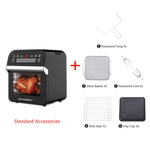 Household Forno Eltrico 12L grande capacidade Air Fryer Air Fryer Forno Plug ue