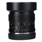 Conjunto de lentes grande angular 7artisans 12 mm F2.8 para Sony E / Canon eos-m / Olympus EPM1 gr