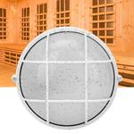 Luz de sauna durável, suprimentos de sauna anti-alta temperatura à prova de umidade, abajur para sauna, sala de massagens e sala de vapor para sauna.